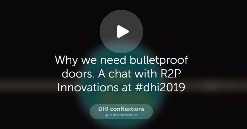 R2P Innovations podcast interview at DHI conNextions on 11/6/19